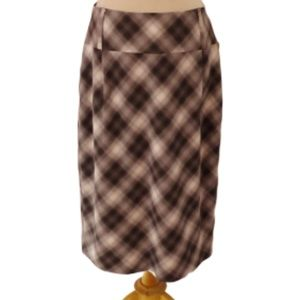 Mexx Plaid Lined Pencil Skirt- Sz. 12